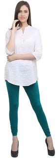 Makeon Fashion Women's Skyblue Cotton Legging