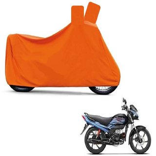 Blays Full Orange Two Wheeler Cover For Passion Pro