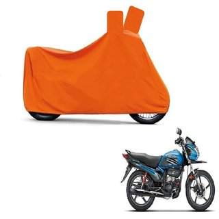 Blays Full Orange Two Wheeler Cover For Passion Pro TR