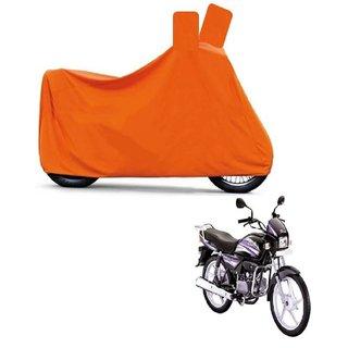 Blays Full Orange Two Wheeler Cover For Splender Pro