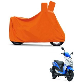 Blays Full Orange Two Wheeler Cover For Dio
