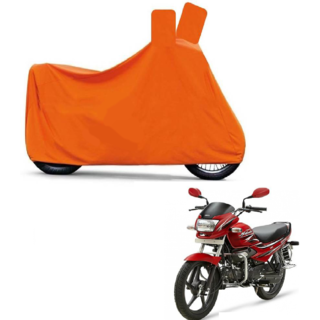 Blays Full Orange Two Wheeler Cover For Super Splender