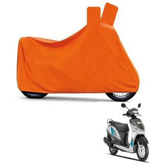 Blays Full Orange Two Wheeler Cover For Alpha