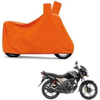Blays Full Orange Two Wheeler Cover For CB shine