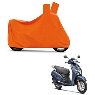 Blays Full Orange Two Wheeler Cover For Activa 125