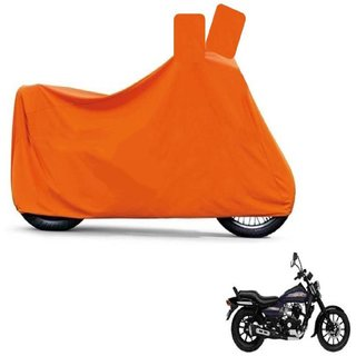 Blays Full Orange Two Wheeler Cover For Avenger 150 Street