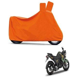 Blays Full Orange Two Wheeler Cover For FZ16
