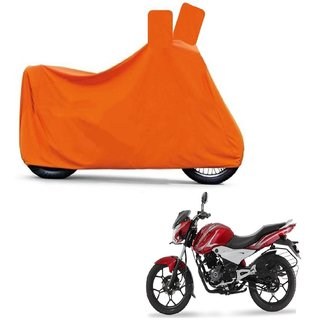 Blays Full Orange Two Wheeler Cover For Discover 125 DTS-i