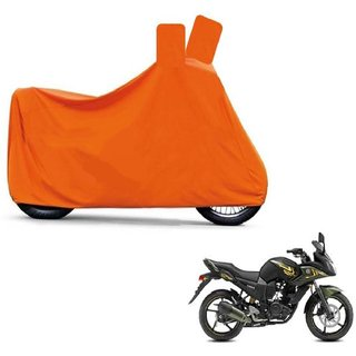Blays Full Orange Two Wheeler Cover For Fazer