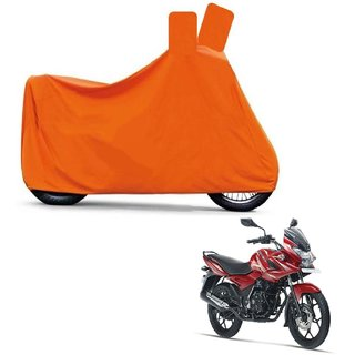 Blays Full Orange Two Wheeler Cover For Discover 150s