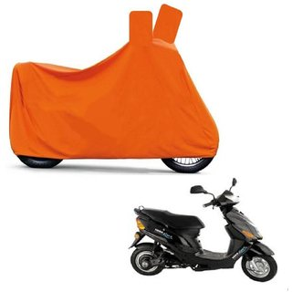 Blays Full Orange Two Wheeler Cover For Electric Wave Dx