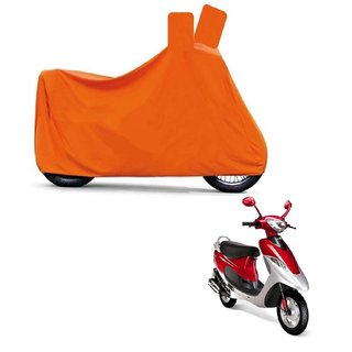 Blays Full Orange Two Wheeler Cover For Scooty Pep+