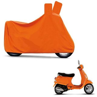 Blays Full Orange Two Wheeler Cover For Lx 125