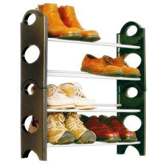 Eco Shopee Bells Boss Foldable 12 Pairs Shoe Rack