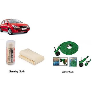 Buy Gromaa Car Washing And Dust Cleaning Combo For Hyundai Getz