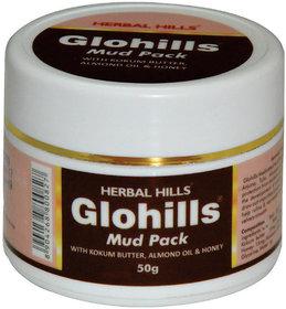 Herbal Hills Glohills Mud Pack 50 g