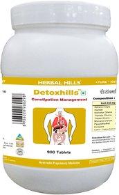Herbal Hills Detoxhills - Value Pack 900 Tablets