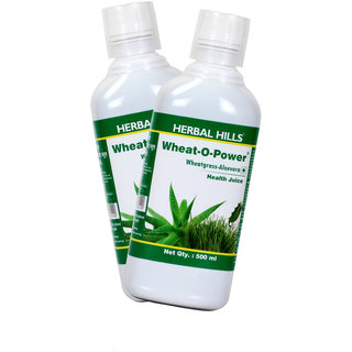 Herbal Hills Wheat-O-Power (Aloe Wheatgrass Juice) (Combo)