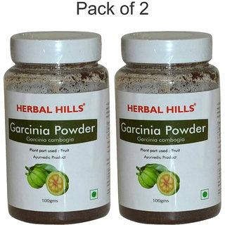 Herbal Hills Garcinia Powder - 100 gms - Pack of 2