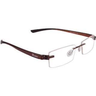 1b9293ce3e Buy Redex Brown Rectangle Spectacle Frame 557 Online - Get 58% Off
