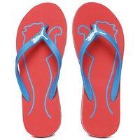 Puma Women's Red & Blue Slippers