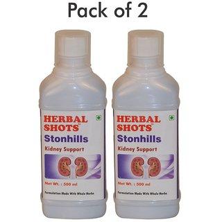 Herbal Hills Stonhills Herbal Shots 500ml (Pack of 2)