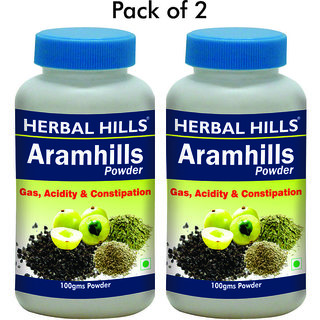 Herbal Hills Aramhills Powder - 100 gms - Pack of 2