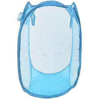 Muren Mesh Laundry Basket -Blue