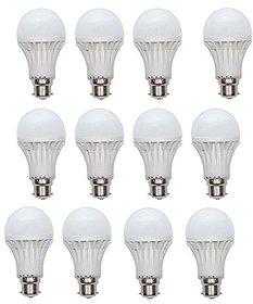 PNP 9W Bright Led Bulb (Pack of 12)