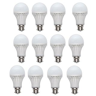PNP 9W Bright Led Bulb (Pack of 12)