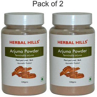 Herbal Hills Arjuna Powder - 100 gms - Pack of 2