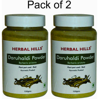 Herbal Hills Daru Haldi Powder - 100 gms - Pack of 2