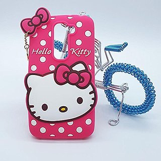 6d5fcbd90 Lenovo K4 Note Back Cover - Dream2Cool Printed Hello Kitty Soft Rubber  Silicone Pink Back Cover Case For Lenovo K4 Note Back Cover-Pink