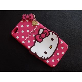 newest 08928 92c6f Oppo A57 Back Cover - Dream2Cool Printed Hello Kitty Soft Rubber Silicone  Pink Back Cover Case For Oppo A57 Back Cover-Pink