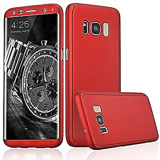 detailed look bda62 89e58 SK Samsung Galaxy S8 Plus S8+ 360 Degree Full Body Protection Front Back  Case Cover (iPaky Style) with Tempered Glass by Dream2Cool for Samsung  Galaxy ...