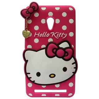 Buy Asus Zenfone 5 A501CG Back Cover - Dream2Cool Printed Hello Kitty Soft Rubber Silicone Pink Back Cover Case For Asus Zenfone 5 A501CG Back Cover-Pink ...