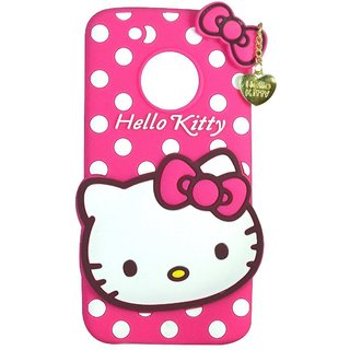 info for 2489b 8a0d1 Motorola Moto G5 Plus Back Cover - Dream2Cool Printed Hello Kitty Soft  Rubber Silicone Pink Back Cover Case For Motorola Moto G5 Plus Back  Cover-Pink