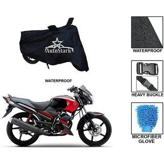AutoStark Premium Quality Waterproof Scooty Body Cover With Heavy Buckle Lock  Storage Bag For Yamaha Gladiator