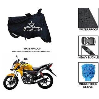 AutoStark Premium Quality Waterproof Scooty Body Cover With Heavy Buckle Lock  Storage Bag For Honda CB Twister