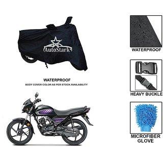 AutoStark Premium Quality Waterproof Scooty Body Cover With Heavy Buckle Lock  Storage Bag For Honda Dream Neo