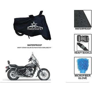 AutoStark Premium Quality Waterproof Scooty Body Cover With Heavy Buckle Lock  Storage Bag For Bajaj Avenger 220 Cruise