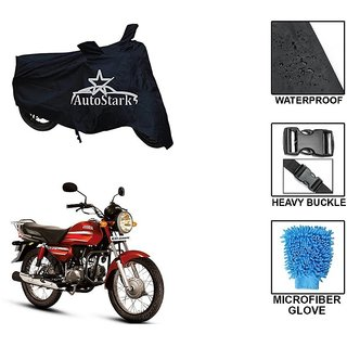AutoStark Premium Quality Waterproof Scooty Body Cover With Heavy Buckle Lock  Storage Bag For Honda CD Dawn