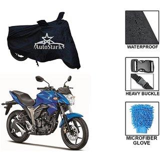 AutoStark Premium Quality Waterproof Scooty Body Cover With Heavy Buckle Lock  Storage Bag For Suzuki Gixxer