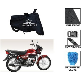 AutoStark Premium Quality Waterproof Scooty Body Cover With Heavy Buckle Lock  Storage Bag For Honda CD