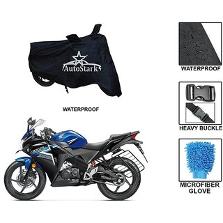 AutoStark Premium Quality Waterproof Scooty Body Cover With Heavy Buckle Lock  Storage Bag For Honda CBR 150R
