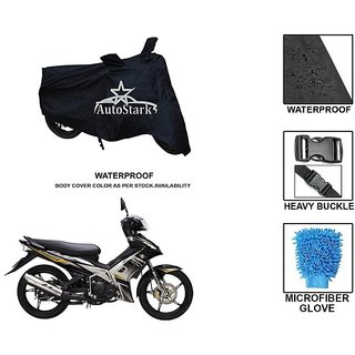 AutoStark Premium Quality Waterproof Scooty Body Cover With Heavy Buckle Lock  Storage Bag For Yamaha Jupiter