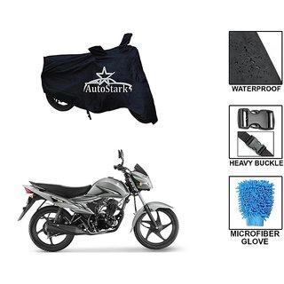 AutoStark Premium Quality Waterproof Scooty Body Cover With Heavy Buckle Lock  Storage Bag For Suzuki Hayate