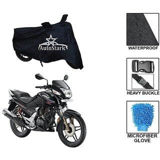 AutoStark Premium Quality Waterproof Scooty Body Cover With Heavy Buckle Lock  Storage Bag For Honda CBZ