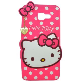 huge discount 7a18b 0d0ed Samsung Galaxy A7 (2016) Back Cover - Dream2Cool Printed Hello Kitty Soft  Rubber Silicone Pink Back Cover Case For Samsung Galaxy A7 (2016) Back ...