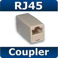 Qty 5 Brand New RJ45 Straight Through Cat 5e Coupler